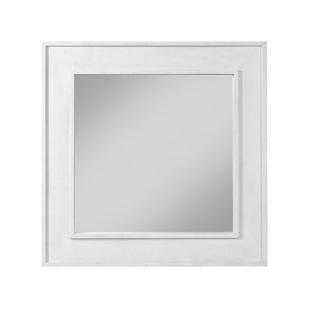 See Details - Square Mirror