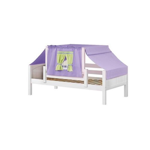See Details - Top Tent Fabric (Twin) : Purple/Green/Light Blue