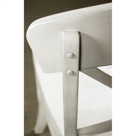 Riverside - Southport - X-back Side Chair - Smokey White Finish