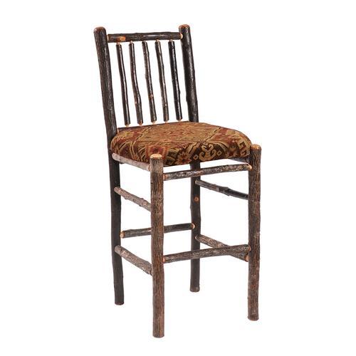 "Barstool - 30"" high - Antique Oak seat"