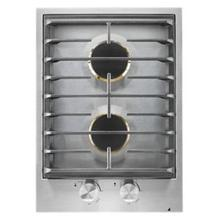 """See Details - Custom 15"""" 2-Burner Gas Cooktop"""