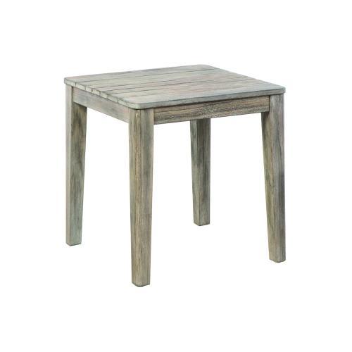 "Alfresco Home - Malvern 20"" Square Wood Side Table"