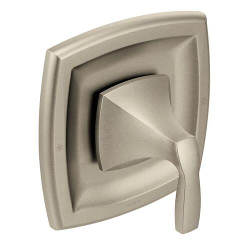 Voss brushed nickel moentrol® valve trim