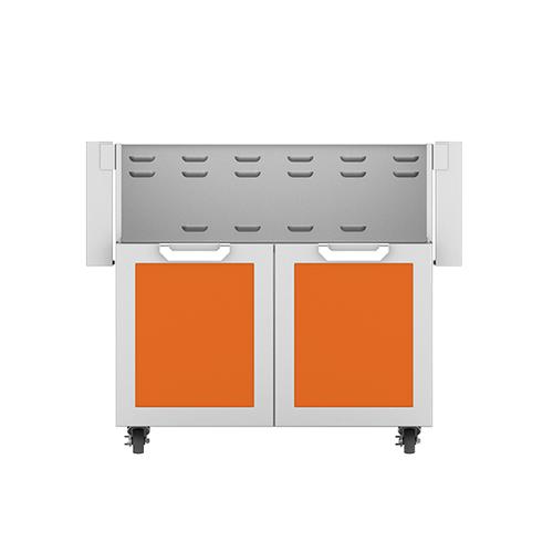 "36"" Hestan Outdoor Tower Cart with Double Doors - GCD Series - Citra"