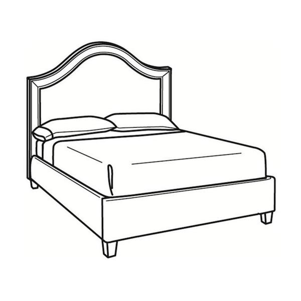 See Details - King Bed with Short Headboard