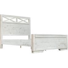 See Details - Crescent Bed, Queen headboard