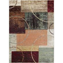 Deco - DCO1004 Multi-Color Rug (Multiple sizes available)