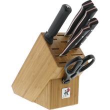 Miyabi Red Morimoto Edition 7-pc Knife Block Set