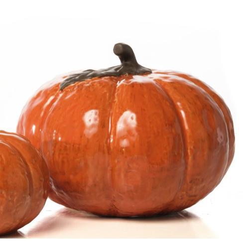 Medium Round Posh Pumpkin