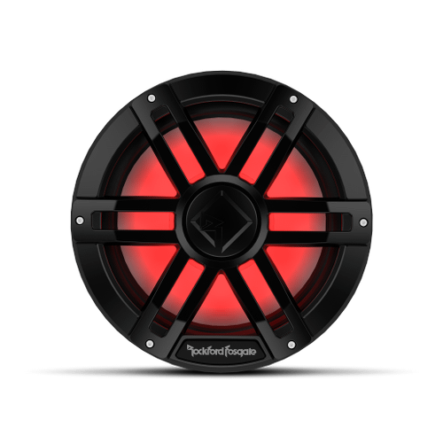 """Rockford Fosgate - M1 12"""" DVC 4 Color Optix™ Marine Subwoofer - Black"""