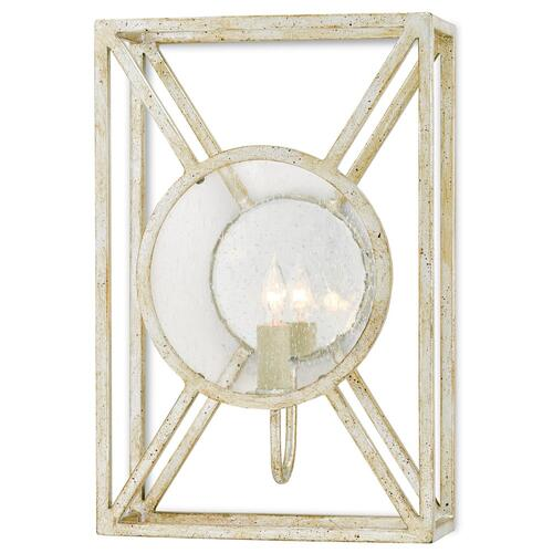 Currey & Company - Beckmore Silver Wall Sconce
