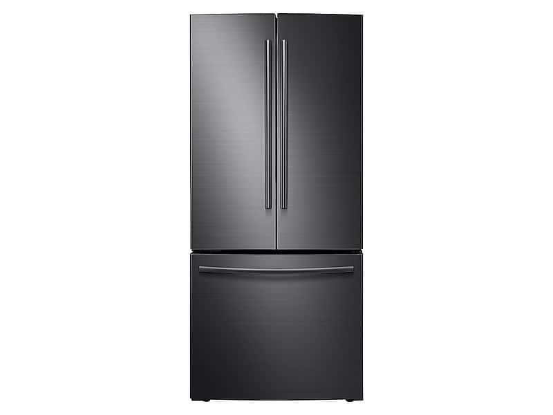 Samsung22 Cu. Ft. French Door Refrigerator In Black Stainless Steel