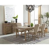Sonora - Upholstered Side Chair - Snowy Desert Finish