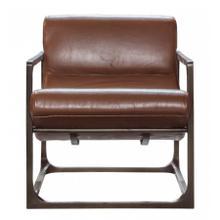 GA Boda Lounger Brown Leather