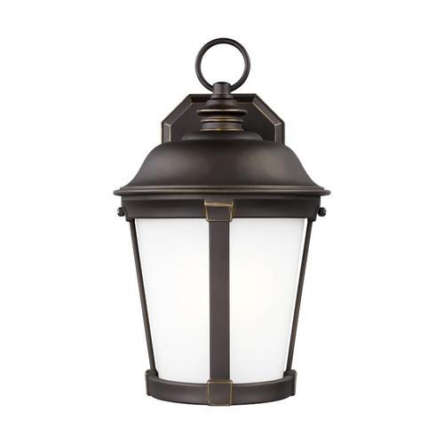 Calder Medium One Light Outdoor Wall Lantern Black
