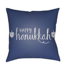 "Happy Hannukah HDY-027 20""H x 20""W"