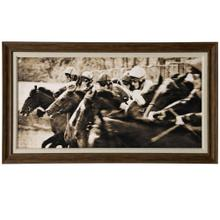 See Details - Post  27in X 47in  Framed Print Under Glass