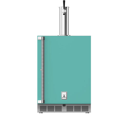 "Hestan - 24"" Hestan Undercounter Single Faucet Beer Dispenser - GFDS Series - Bora-bora"