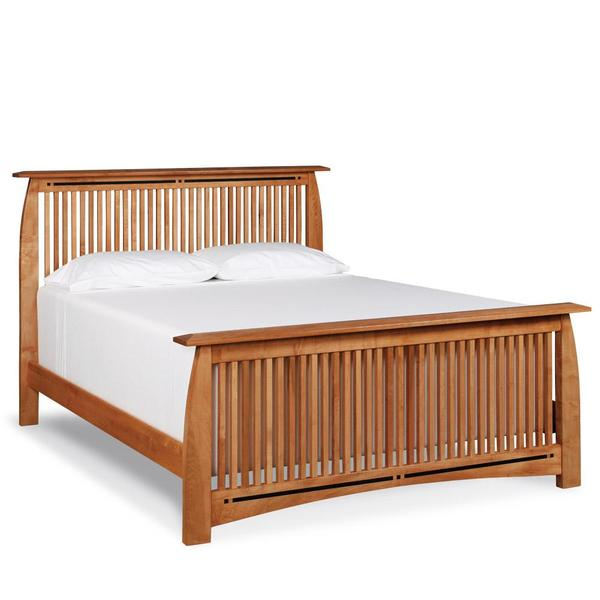 See Details - Aspen Slat Bed with Inlay, Queen