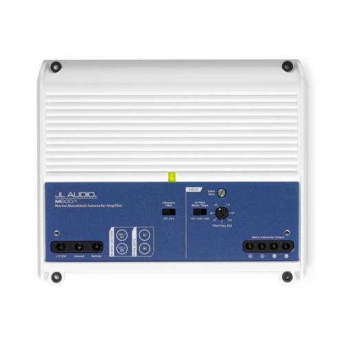 JL Audio - Monoblock Class D Marine Subwoofer Amplifier, 600 W