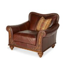 All Leather Chair and 1/2