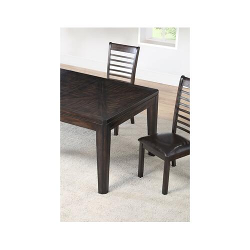 "Ally 60-78 inch Dining Table w/18"" Leaf"