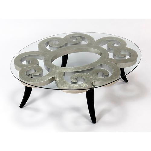 """Artmax - Coffee Table with Glass 52x40x19"""""""