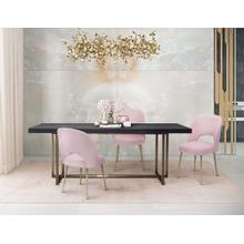 View Product - Swell Blush Velvet Chair