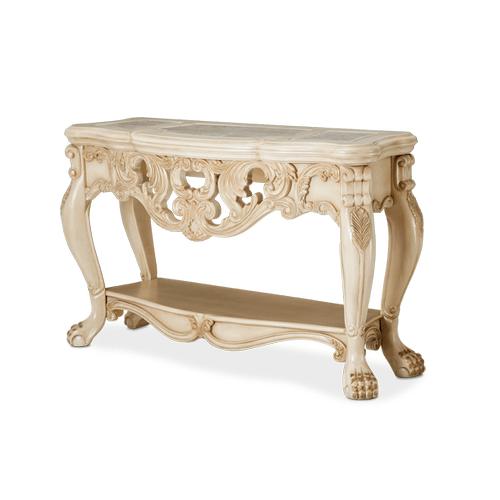 Chateau de Lago Console Table Blanc