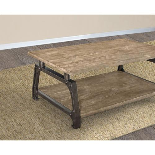 """Steve Silver Co. - Rochester Cocktail Table 48"""" x 28"""" x 18"""""""