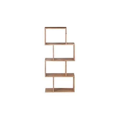 Portola Natural 4 Cube Bookcase, 2001-7222NT