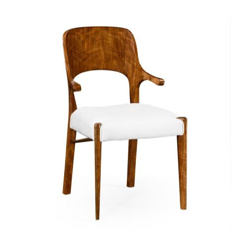 Hyedua Armchair, Upholstered in COM