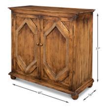 See Details - Diamond Sideboard, 2 Door, Brown