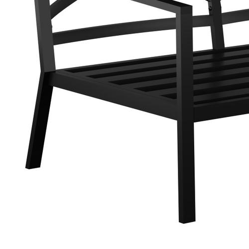 Accentrics Home - Outdoor Metal X-Back Sofa (1 of 2)