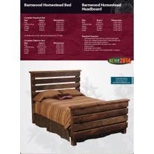 Barnwood Homestead Bed