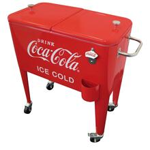 "View Product - Coca-Cola® Retro ""ICE COLD"" 60 qt. Cooler"