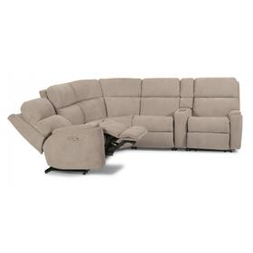 Rio Power Reclining Sectional with Power Headrests