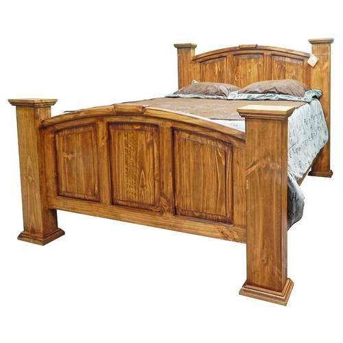 Brown Wb Queen Mansion Bed