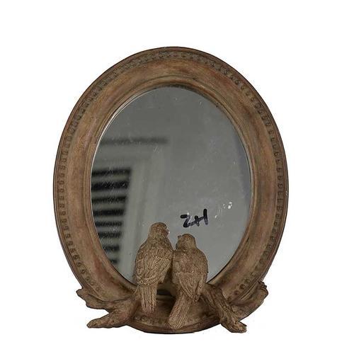 A & B Home - Corella Oval Bird Mirror