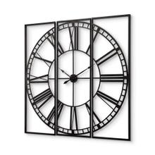 """See Details - Norwood 60"""" Square Oversized+ Industrial Wall Clock"""