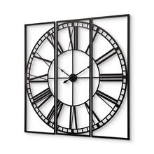 "Norwood 60"" Square Oversized+ Industrial Wall Clock"