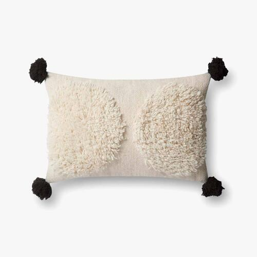 P0483 Ivory / Black Pillow