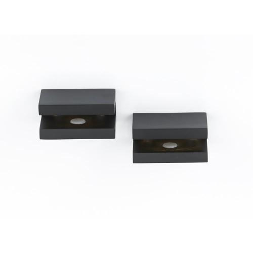 Contemporary II Shelf Brackets A8455 - Matte Black