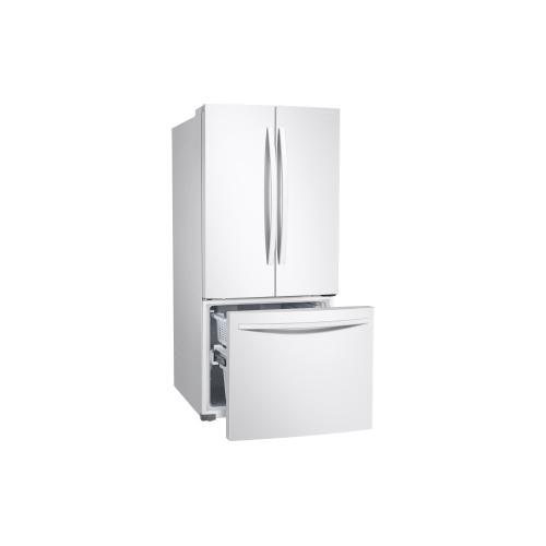 """RF220NFTAWW 21.8"""" French Door Refrigerator"""