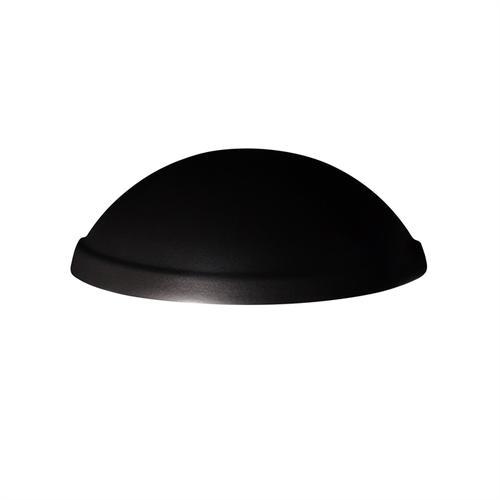 Rimmed Quarter Sphere - Downlight - Outdoor