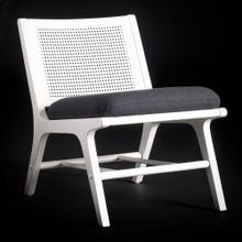 RAFFLES CHAIR WHITE  32in X 22in  Imagine sitting in your garden room or on the veranda sipping co