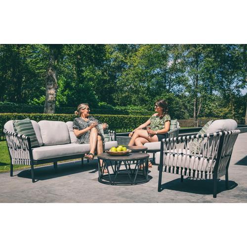 MENTON Deep Seating Lounge Chair w/ cushions