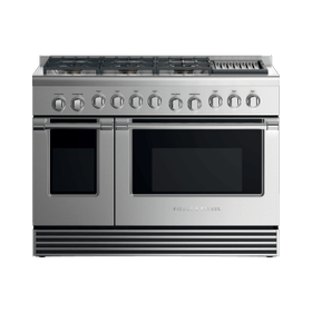 "Gas Range, 48"", 6 Burners with Grill"