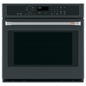 "Cafe Appliances  30"" Smart Single Wall Oven with Convection"