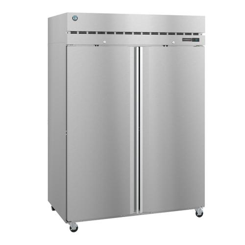 R2A-FS, Refrigerator, Two Section Upright, Full Stainless Doors with Lock